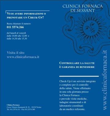 servizio Check-Up - Clinica Fornaca