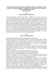Regolamento sperimentazioni cliniche farmaci - Azienda ...