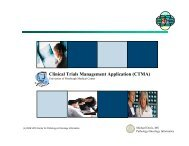 Clinical Trials Management Application (CTMA) - Office of Clinical ...