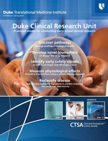 Duke Clinical Research Unit - DTMI - Duke University