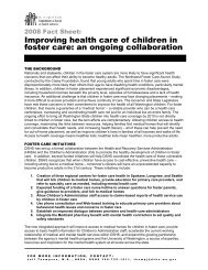 Improving Health Care of Children - Committee on Ways and Means