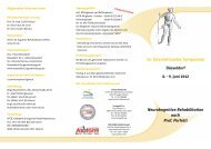 14. Internationales Symposium Neurokognitive Rehabilitation nach ...