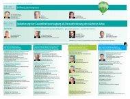Optimierung der Gesundheitsversorgung als Herausforderung der ...