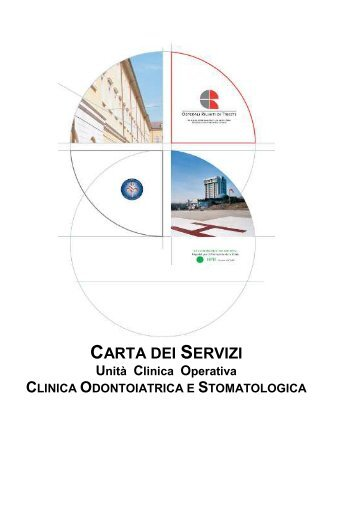 Carta dei Servizi Unità Clinica Operativa Clinica Odontoiatrica