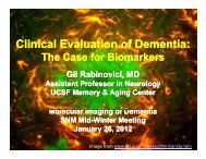 Clinical Evaluation of Dementia: