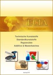 Kunststoffe - ECTA Handelsgesellschaft mbH