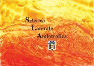 SLA - Sclerosi Laterale Amiotrofica - Conosciamola insieme - ASLASI