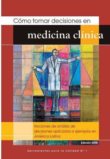 Cómo tomar decisiones en medicina clínica - Salud de Altura