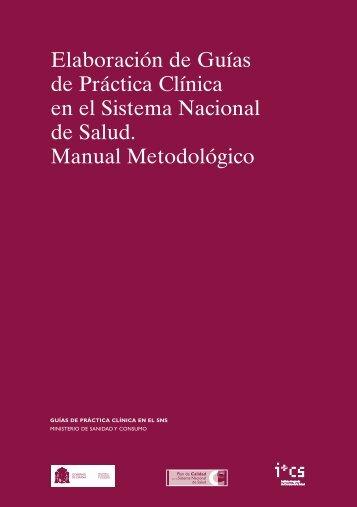 manual metodológico completo - GuíaSalud
