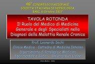 ARB + ACE-i - Società Italiana di Nefrologia