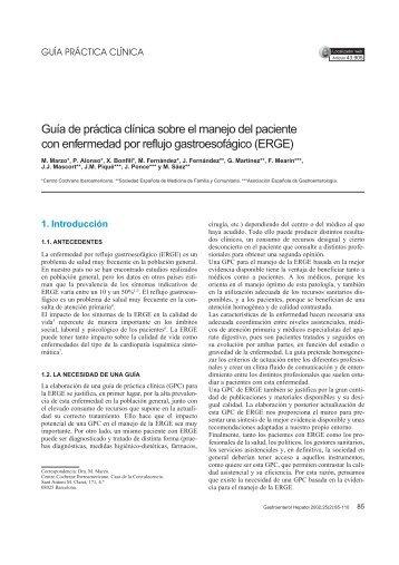 Guía de práctica clínica sobre el manejo del paciente con ...