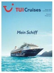 TUI CRUISES - Mein Schiff - 2010/2011 - tui.com - Onlinekatalog