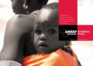 Business Plan 2011-2014 - Amref