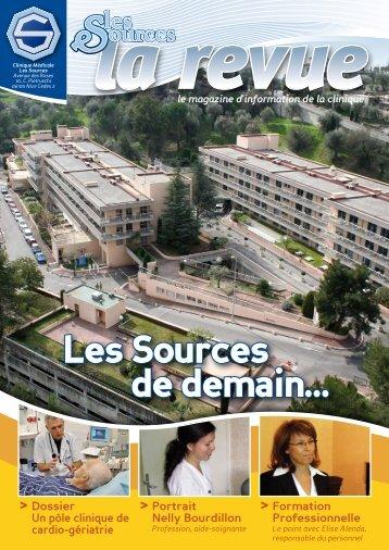 Les Sources de demain… - La Clinique les Sources