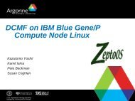 DCMF on IBM Blue Gene/P Compute Node Linux