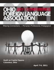ohio foreign language association conference