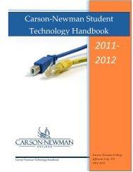 2011- 2012 - Carson-Newman College