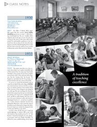 1930 1933 A tradition of teaching excellence - Harris Connect