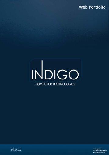 Web Portfolio - Indigo CT