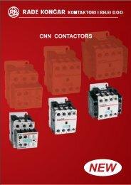 cnn contactors - RADE KONCAR