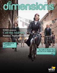 WHRO presents Call the Midwife Sunday, September 30