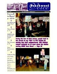 Spring 2003 - The Beachwood Voice