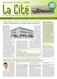 La Cité - 5. Jahrgang, Nr. 18 - Winter 2007/2008 - Cite ...
