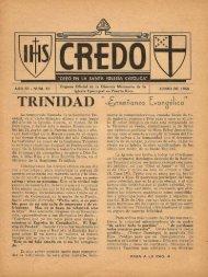 Junio 1956 - Revista CREDO