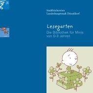 Lesegarten - Die Bibliothek für Minis von 0 bis 3 Jahren