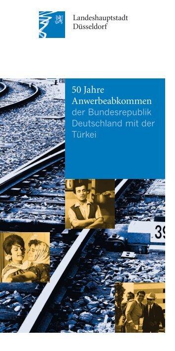 50 Jahre Anwerbeabkommen der Bundesrepublik Deutschland mit ...