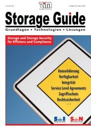Storage und Storage Security für Effizienz und Compliance - TIM AG