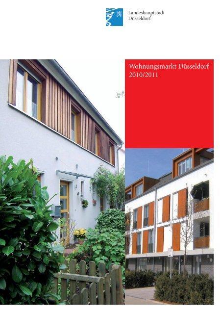 Wohnungsmarkt Düsseldorf 2010/2011 - Stadt Düsseldorf