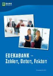 Finanzbericht 2011 EDEKABANK - EDEKA Gruppe