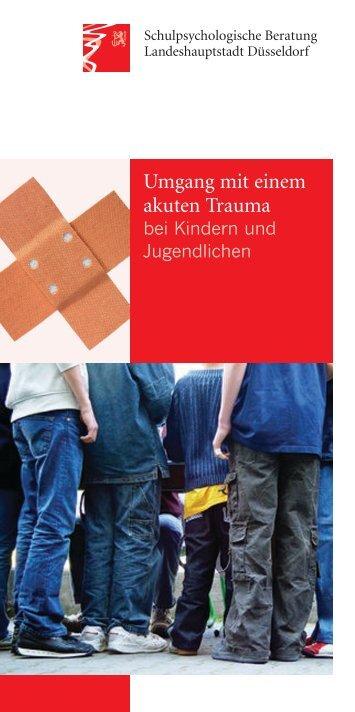 Umgang mit einem akuten Trauma bei Kindern und Jugendlichen