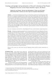 Geology, petrography and geochemistry of the acid volcanism of the ...