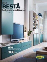 IKEA Broschüre Aufbewahrungslösungen 2013