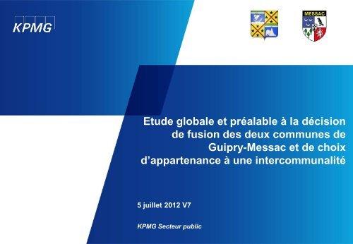 Diagnostic - Mairie de Guipry