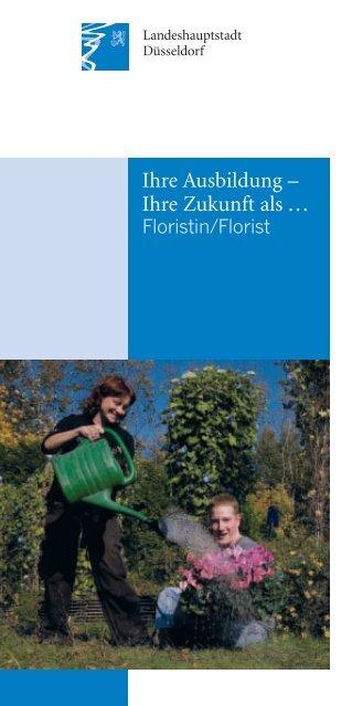 Ausbildung als Floristin/Florist - Stadt Düsseldorf