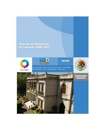 Consulte aquí el Informe de Rendición de Cuentas - Secretariado ...