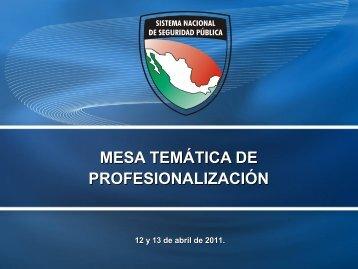 Presentación Profesionalización Subsemun - Secretariado Ejecutivo