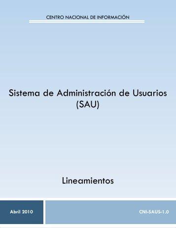 SAU V1 FORMATOS JUNIO - SE SNSP - Secretariado Ejecutivo