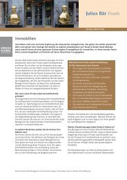 Immobilien - Swiss & Global - Homepage