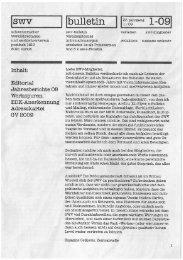 Swv bulletin 25-Jährige 1-09