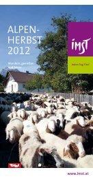 ALPEN- HERBST 2012 - Imst