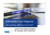 Immobilien Due Diligence - Lloyd Fonds AG