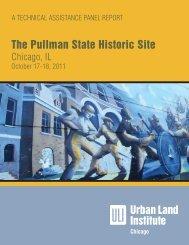 Pullman State - ULI Chicago - Urban Land Institute