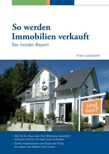 Download Leseprobe - So werden Immobilien verkauft!