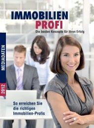 So erreichen Sie die richtigen Immobilien-Profis 2012 MEDIADATEN