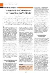 Demographie und Immobilien – ein ... - Winters & Hirsch