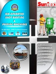 Pneumatic / Air Operated Shot Blasting Machines - Surface ...